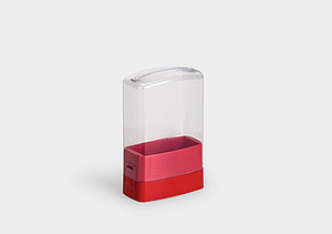 RoseSet: a modern, eyecatching set-packaging for presentation, storage, and transport.