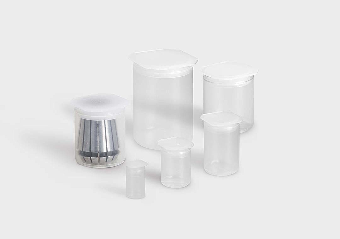 SZ-PlugPack: packaging tubes for ER collets.