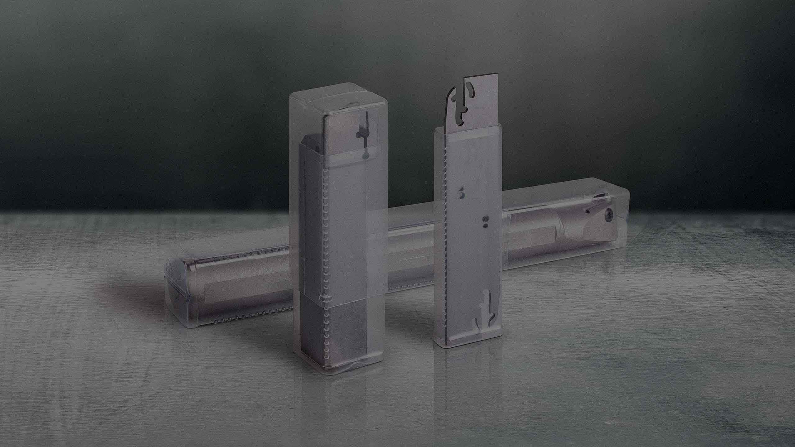 Plastic packaging solutions for parting and grooving tools.