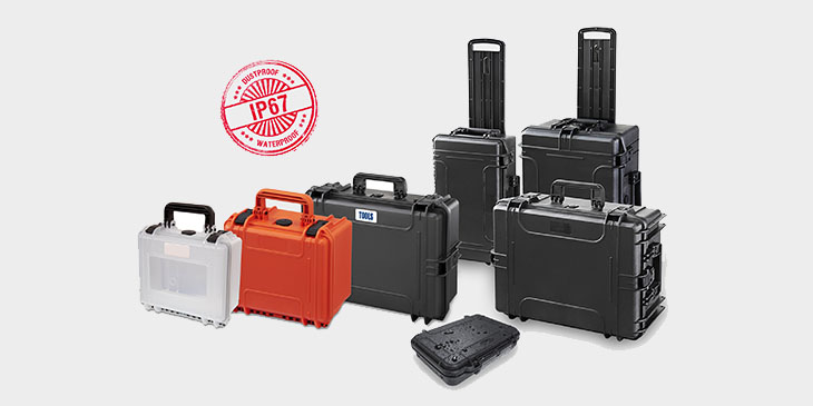 RoseCase ProSecure: waterproof and dustproof plastic cases and boxes